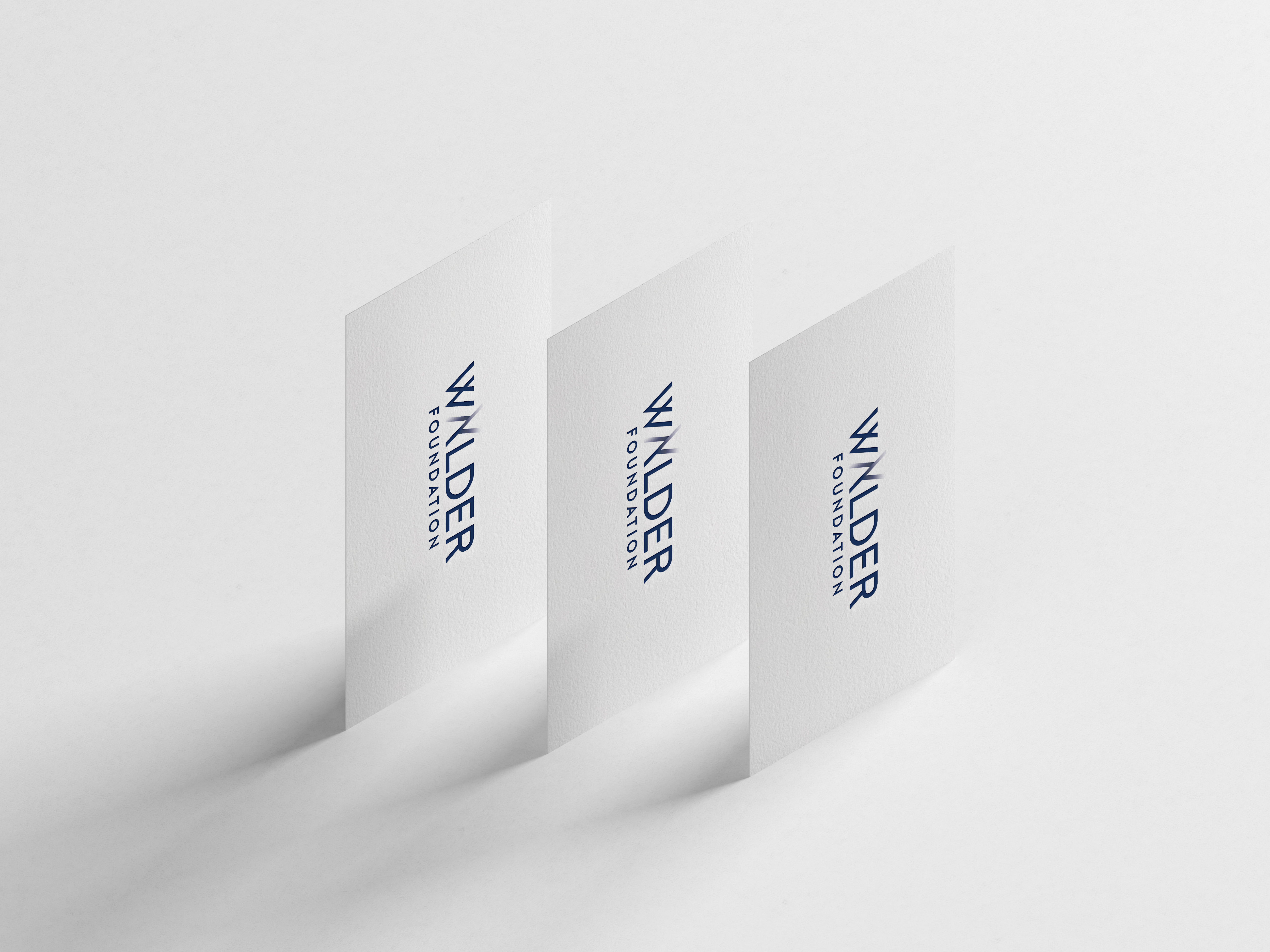 Modern Vertical  Business Card Mockup by Anthony Boyd Graphics